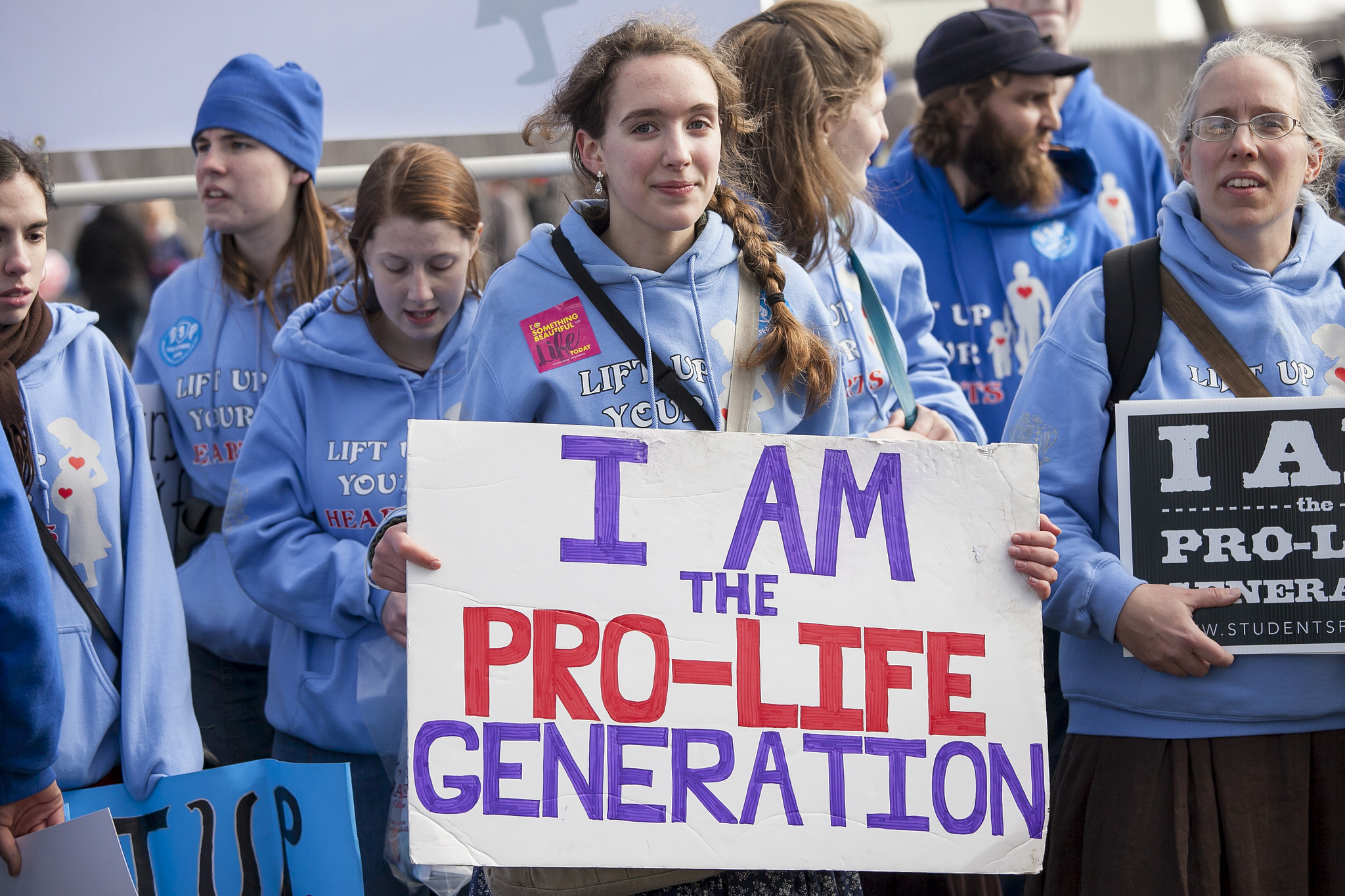 You might be pro-life