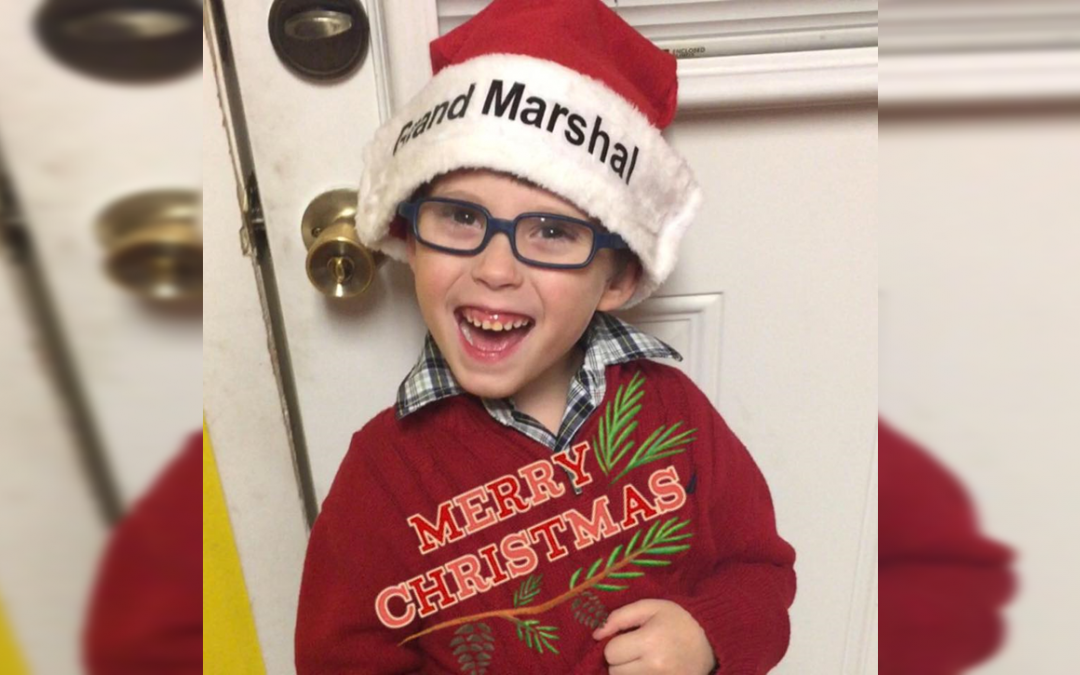 Boy with Cerebral Palsy Is Grand Marshal for His City's Parade